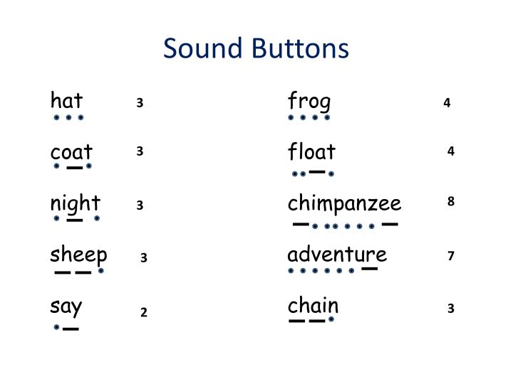 Sound Buttons