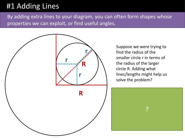 #1 Adding Lines