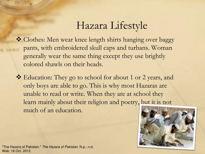Hazara Lifestyle