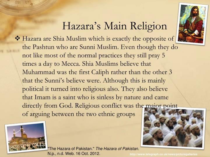 Hazara's Main Religion