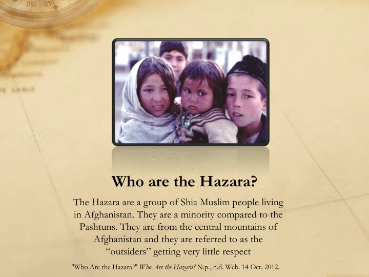Who are the Hazara?