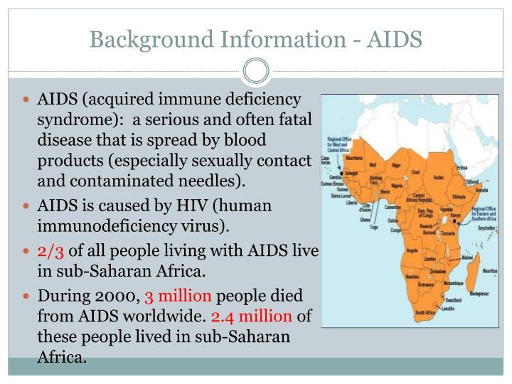Background Information - AIDS