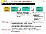 basic designs true experiments 21