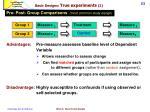 basic designs true experiments 22