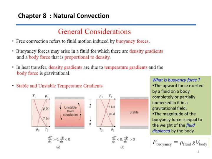 Chapter 8 natural convection1