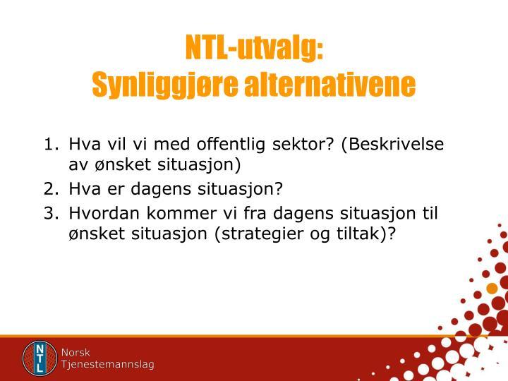NTL-utvalg