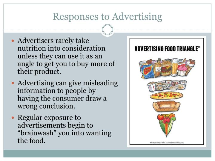 Responses to Advertising