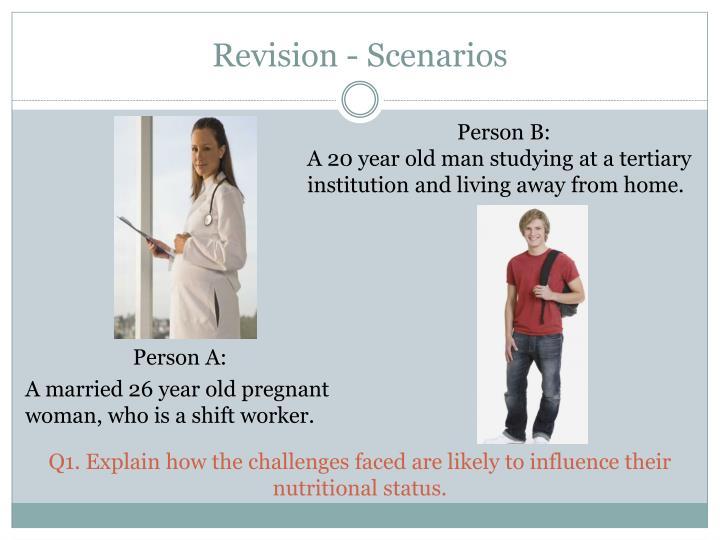 Revision - Scenarios