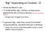 big depending on context