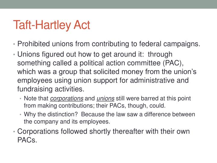 Taft-Hartley Act