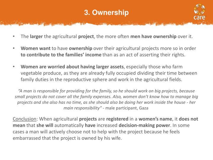 3. Ownership