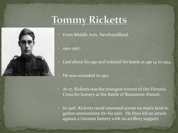 Tommy Ricketts