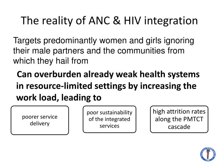 The reality of anc hiv integration