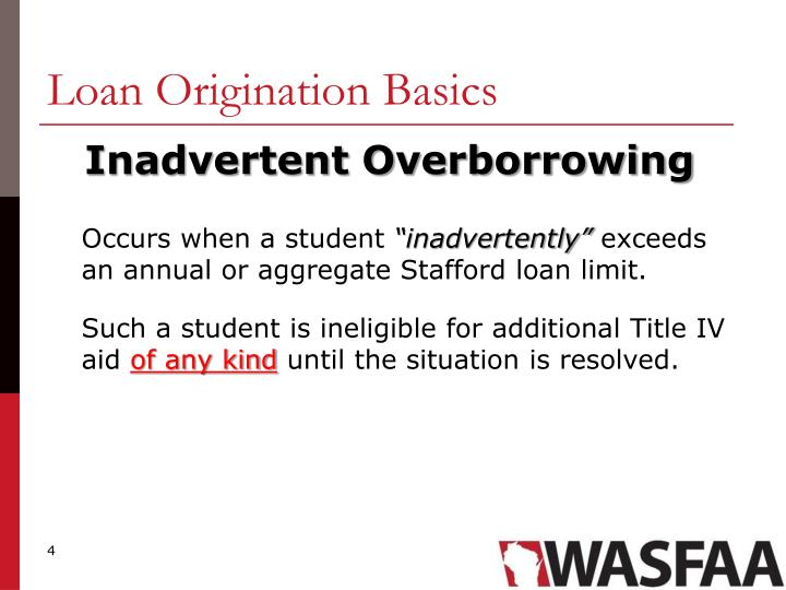Loan Origination Basics