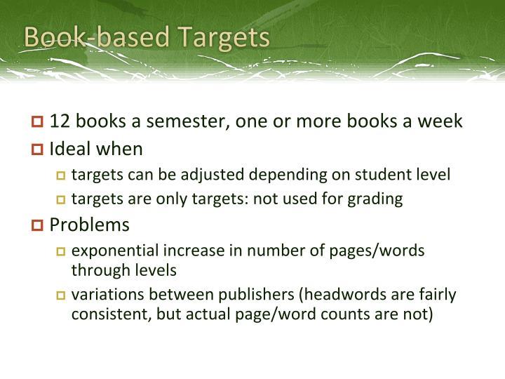 Book-based Targets