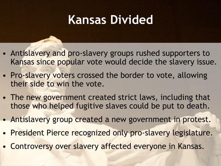 Kansas Divided