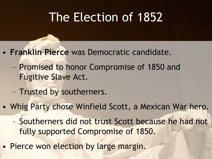 The Election of 1852