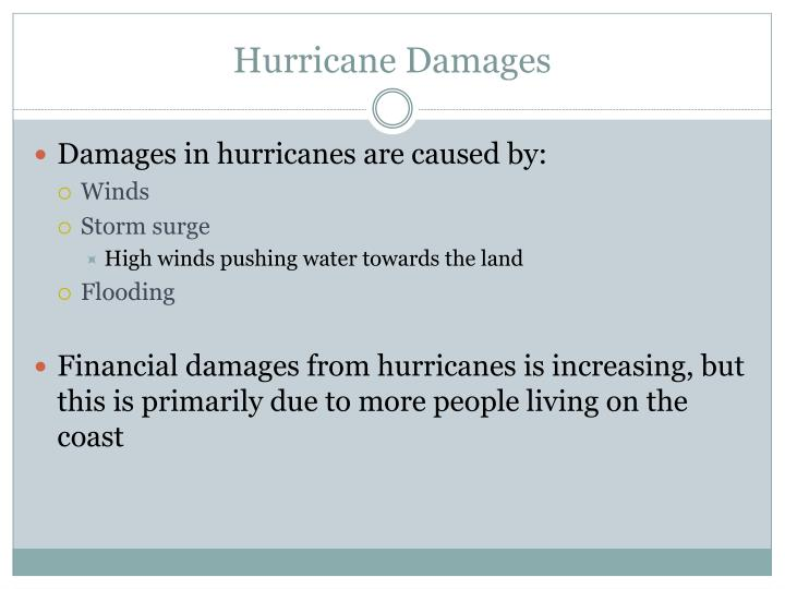 Hurricane Damages