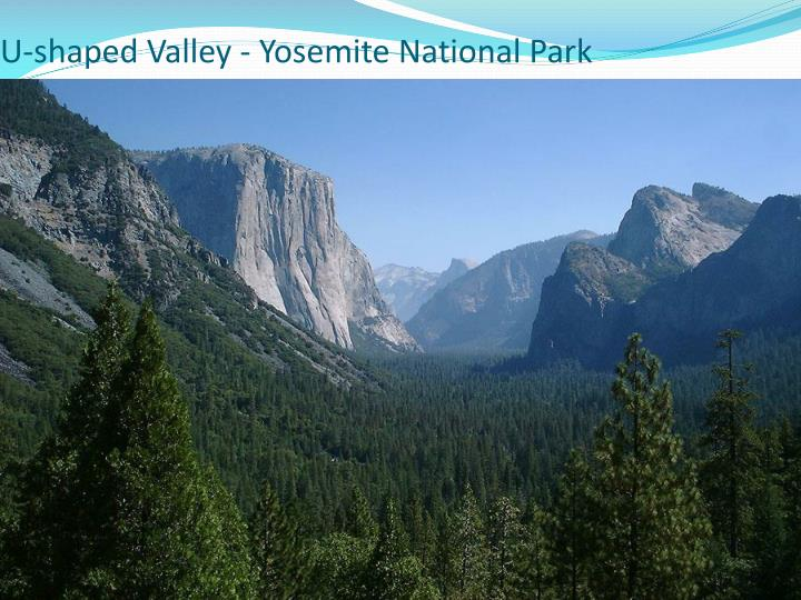 U-shaped Valley - Yosemite National Park