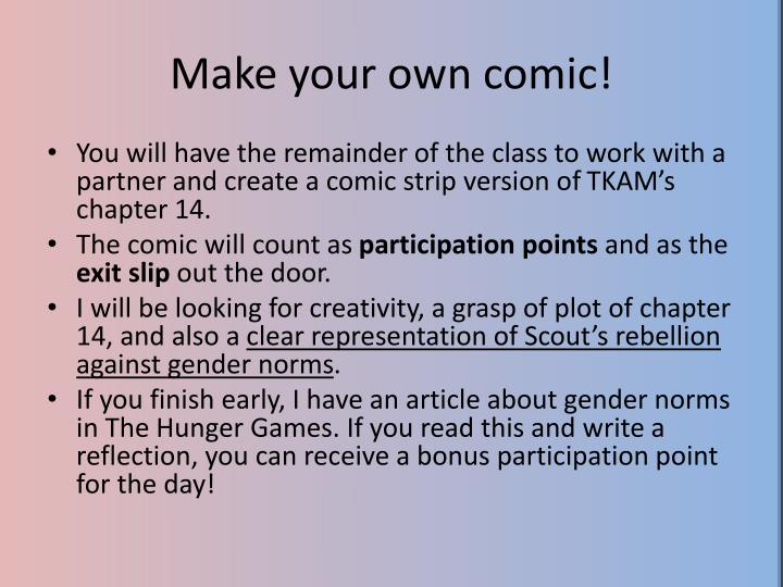 Make your own comic!