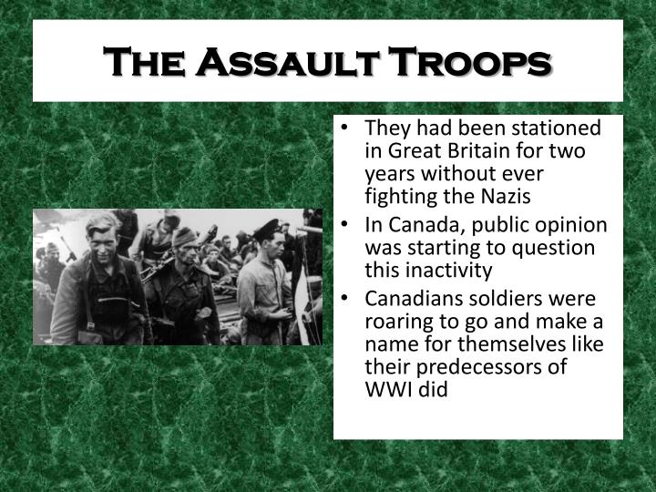The Assault Troops