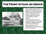 the front attack on dieppe1