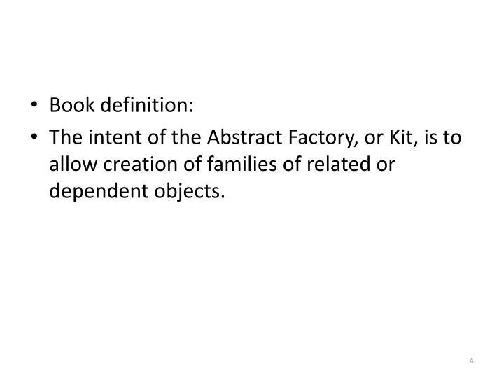 Book definition: