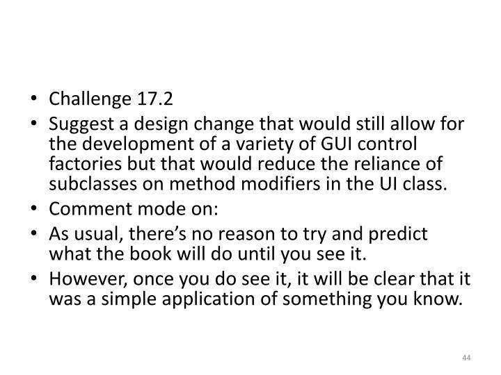 Challenge 17.2