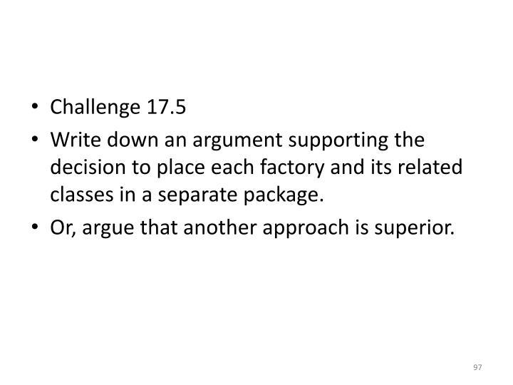 Challenge 17.5