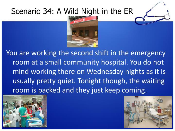 Scenario 34: A Wild Night in the ER