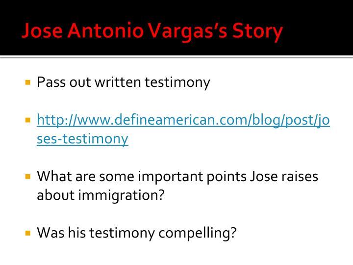 Jose Antonio Vargas's Story
