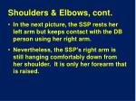 shoulders elbows cont