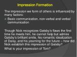 impression f ormation
