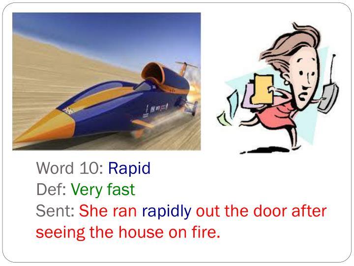 Word 10: