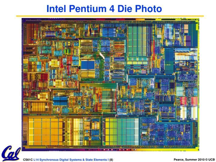 Intel Pentium 4 Die Photo