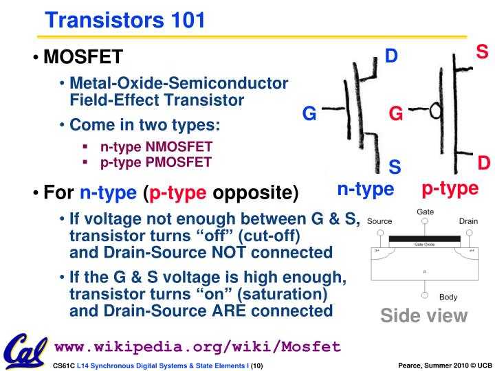 Transistors 101