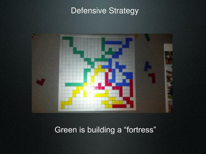Defensive Strategy