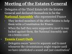 meeting of the estates general1