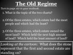 the old regime1