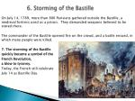 6 storming of the bastille