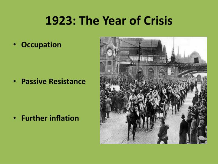 1923 the year of crisis1