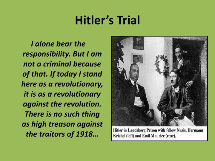 Hitler's Trial