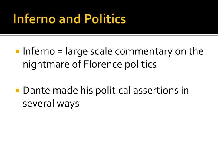 Inferno and Politics