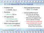 cc 2 0 absolute performance1