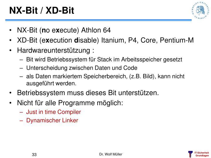 NX-Bit / XD-Bit