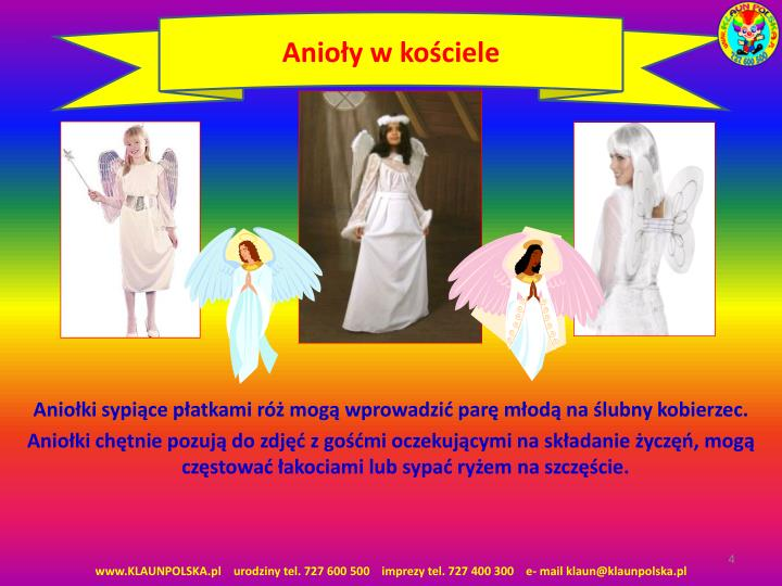 Anioły w kościele