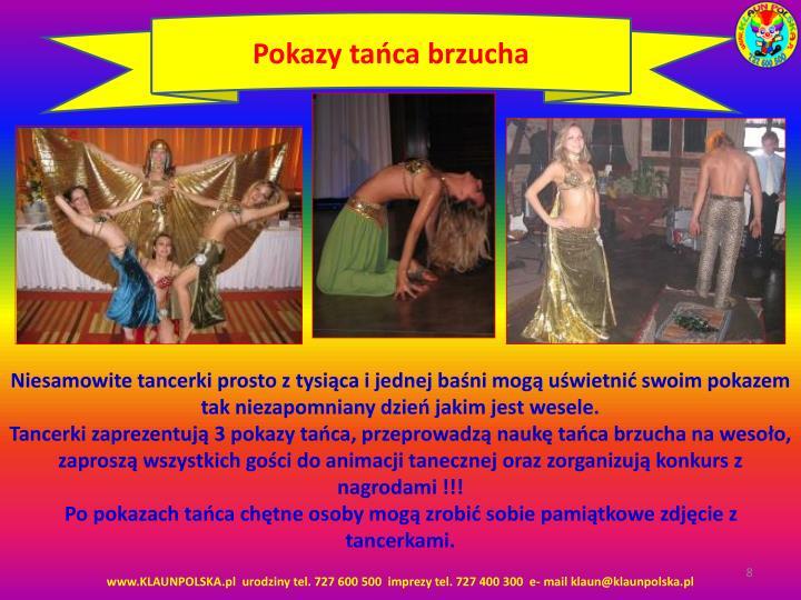 Pokazy tańca brzucha