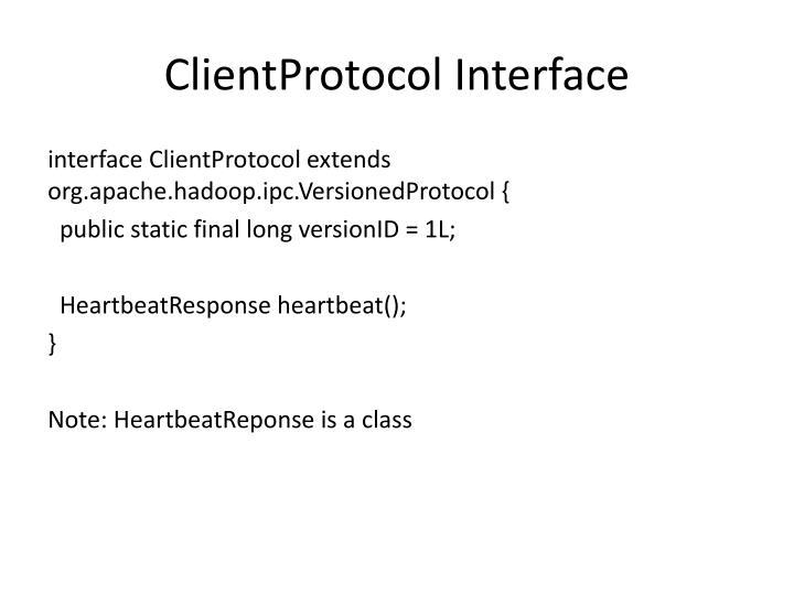 ClientProtocol
