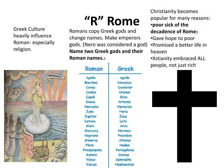 """""""R"""" Rome"""