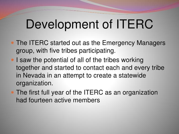 Development of ITERC